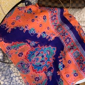 Patterned Aerie Scarf OS